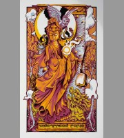 Widespread Panic: Minneapolis Show Poster, Masthay 2016