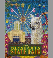 Minnesota State Fair: Official State Fair Poster, 2016 Swere