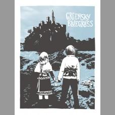 Greensky Bluegrass: Spring Tour Poster, Unitus 17
