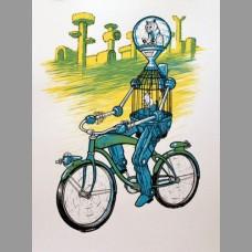 The Future Is Meow: Art Crank Minneapolis Show Poster, Nylen 2014