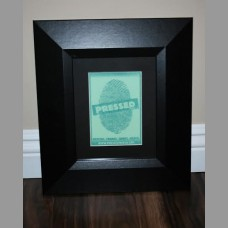 "2"" Black Textured Frame"