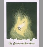 The Devil Makes Three: Winter Tour Poster, 2013 Santora