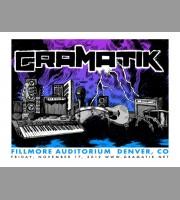 Gramatik: Fillmore Denver, CO Show Poster, 2012 Unitus