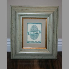 "2 1/2"" Green & Copper Frame"