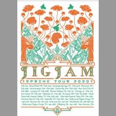 JigJam Spring Tour Poster, Mc. 2020