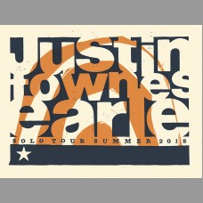 Justin Townes Earle: Summer Tour Poster, Tooth 18