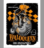 Jukebox The Ghost: Halloqueen II Poster, Unitus 2016