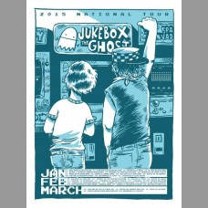 Jukebox The Ghost: National Tour Poster, 2015 Unitus