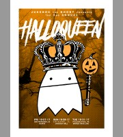 Jukebox The Ghost: Halloqueen III Poster, Unitus 17