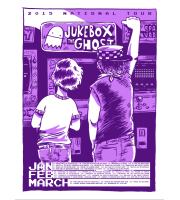 Jukebox The Ghost: National Tour Purple Variant Poster, 2015 Unitus