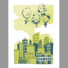 Kongos: Fall Tour Poster, Unitus 2016