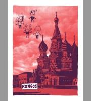 Kongos: Moscow Themed Tour Poster, Unitus 17