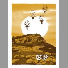 Kongos: Africa Themed Tour Poster, Unitus 17