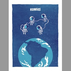 Kongos: South America Themed Tour Poster, Unitus 17
