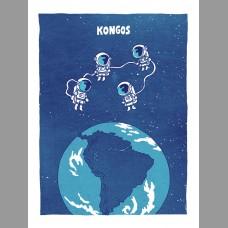 Kongos: South America Themed Tour Poster, Unitus 17