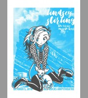 Lindsey Stirling: Red Rocks Show Poster, Unitus 2016