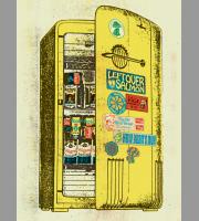 Leftover Salmon: NYE Run Show Posters, 2012 Hamline