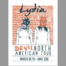Lydia: Devil Tour Posters, 2013 Unitus