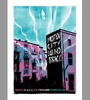 Motion City Soundtrack, Fillmore, Minneapolis Show Poster, Unitus 2020