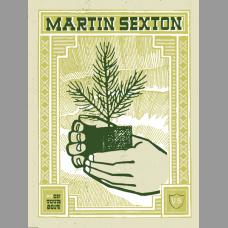 Martin Sexton: Winter Tour Poster, 2014 Hamline