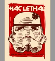 Mac Lethal: Minneapolis, MN Show Poster, 2012 Unitus