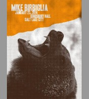Mike Birbiglia: Salt Lake City Show Poster, 2014 Quinine