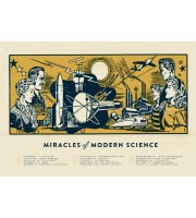 Miracles Of Modern Science: Fall Tour Poster, 2013 Hamline