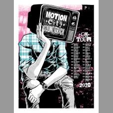 Motion City Soundtrack, Tour Poster, Unitus 2020