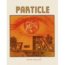 Particle: Spring Tour Poster, 2014 Hamline