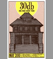 30db: One Man Show Tour Poster, 2010 Hosman