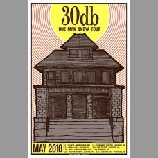 30db: One Man Show Tour Poster, 2010 Hosman