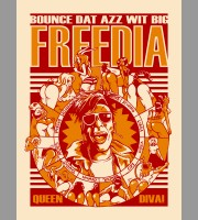Big Freedia: Summer Tour Poster, 2012 Unitus