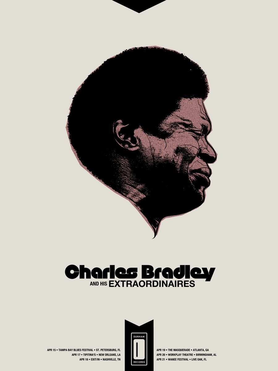 Charles Bradley And His Extrordinaires Winter Tour Poster