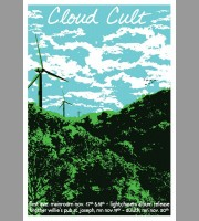 Cloud Cult: Lightchasers Fall Tour Poster, 2010 Mc.