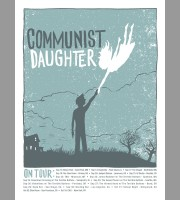 Communist Daughter: Fall Tour Poster, 2012 Unitus