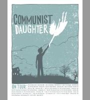 Communist Daughter: Fall Tour Poster, 2012 Unitus