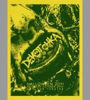 DeVotchKa: Ogden Theater Halloween Poster, 2011 Shaw