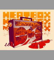 Heatbox: Minneapolis, MN Show Poster, 2009 Unitus