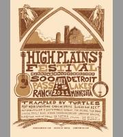 High Plains: Detroit Lakes, MN Festival Poster, 2011 Unitus