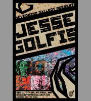Jesse Golfis: Icons Art Show Poster, 2010 Mc.
