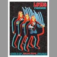 Lotus: Portland, OR Halloween Show Poster, 2010 Hosman