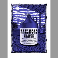 Railroad Earth: Midwest Tour Poster, 2010 Ripley