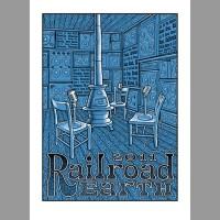 Railroad Earth: Winter Tour Poster, 2011 Ripley