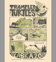 Trampled By Turtles: Alaska Tour Poster, 2010 Unitus