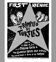 Trampled By Turtles: First Ave, Minneapolis, MN Show Poster, 2011 Unitus