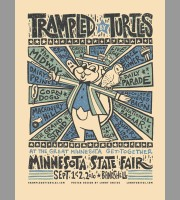 Trampled By Turtles: St. Paul, MN, Minnesota State Fair Poster, 2010 Unitus