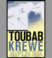 Toubab Krewe: Holiday Hat Trick Tour Lithograph Poster, 2010 Mc.