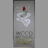 The Wood Brothers: Fall Tour Poster, 2011 McGlaughlin