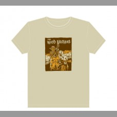 The Wood Brothers: Fall Tour Shirt, 2012 Unitus