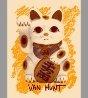 Van Hunt: Fall Tour, Second Edition Poster, 2011 Unitus